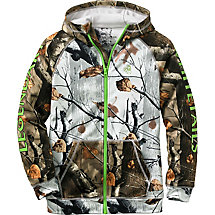 Youth Team Legendary Big Game Camo Full Zip Hoodie at Legendary Whitetails