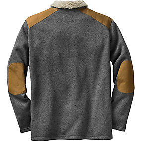 Mens Homestead Zip Front Sweater Fleece