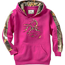 Youth Camo Outfitter Hoodie at Legendary Whitetails