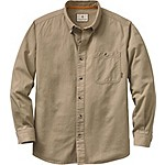 Mens Hunting Camp Twill Shirt