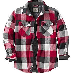 Woodsman Quilted Shirt Jacket