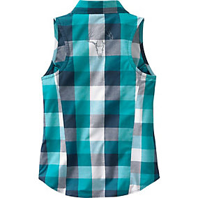 Cool Breeze Sleeveless Button Down