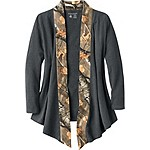 Ladies Crossroads T-Shirt Cardigan