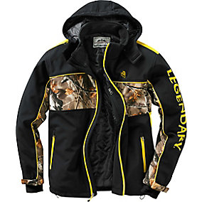 Trails End Camo Softshell Jacket