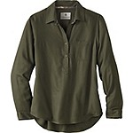 Ladies Sherwood Slouchy Popover Shirt