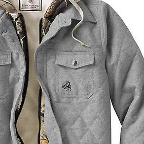 Ladies Voyager Hooded Shirt Jacket