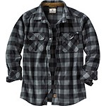 Mens Navigator Fleece Button Down Shirt