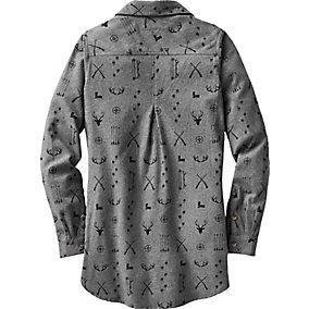 Ladies Firelight Popover Flannel Tunic