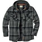 Whitetail Lodge Hooded Flannel