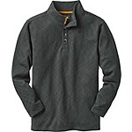 Mens Stone Lake Mock Henley