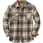 Mens Shotgun Western Flannel