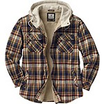 Camp Night Berber Lined Hooded Flannel