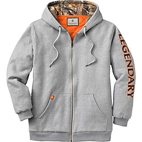 Mens Buckshot Workwear Full Zip
