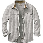 Silent Hide Sweater Fleece Button Down
