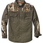 Mens Classic Camp Twill Button Down