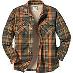 Deer Camp Fleece Lined Shirt Jac