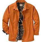Creek Bed Canvas Shirt Jacket