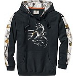 Mens Snow Camo Outfitter Hoodie
