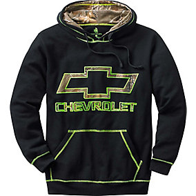 Trucked Up Camo Chevy Hoodie