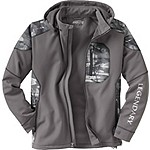 Mens Splitshot Hooded Softshell Jacket
