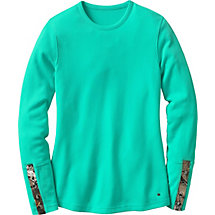 Ladies Huntress Crew Neck Long Sleeve Thermal at Legendary Whitetails