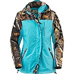 Ladies Camo Splash Rain Jacket
