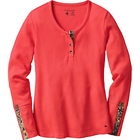 Ladies Trophy Hunter Thermal Henley