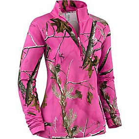 Ladies Arrowhead ¼ Zip Performance Top