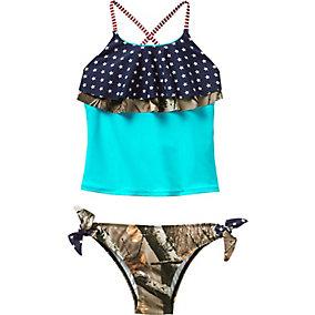 Girls Americana Swimsuit