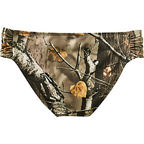 Ladies Camo Bikini Swim Bottom