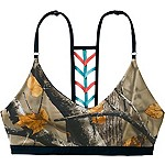 Ladies Camo Oasis Reversible Bikini Top