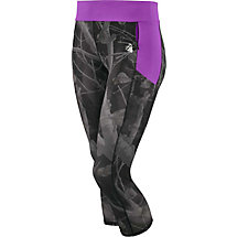 Ladies Ridge Run Big Game Camo Performance Capris at Legendary Whitetails