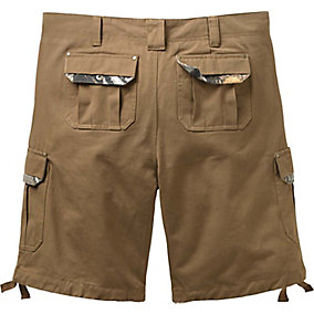 Mens Base Camp Twill Cargo Shorts