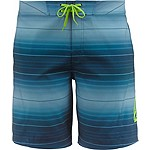 Mens Round Lake Ombre Board Shorts