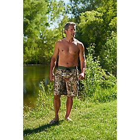 Whitewater Legends Camo Swim Trunks