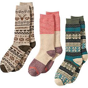 Ladies Toasty Toes 3-Pack of Socks