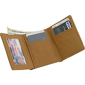High Impulse Canvas Tri-Fold Wallet