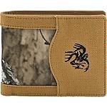 High Impulse Canvas Bi-Fold Wallet