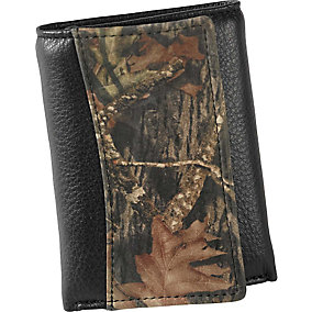 Deluxe Camo Trifold Wallet