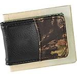 Deluxe Camo Leather Money Clip