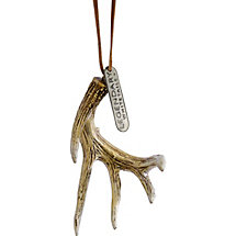 James Jordan Deer Antler Ornament at Legendary Whitetails