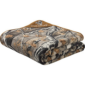 XL Big Game Field Camo Fleece Blanket