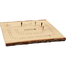 Natural Wall Plaque Cribbage Board