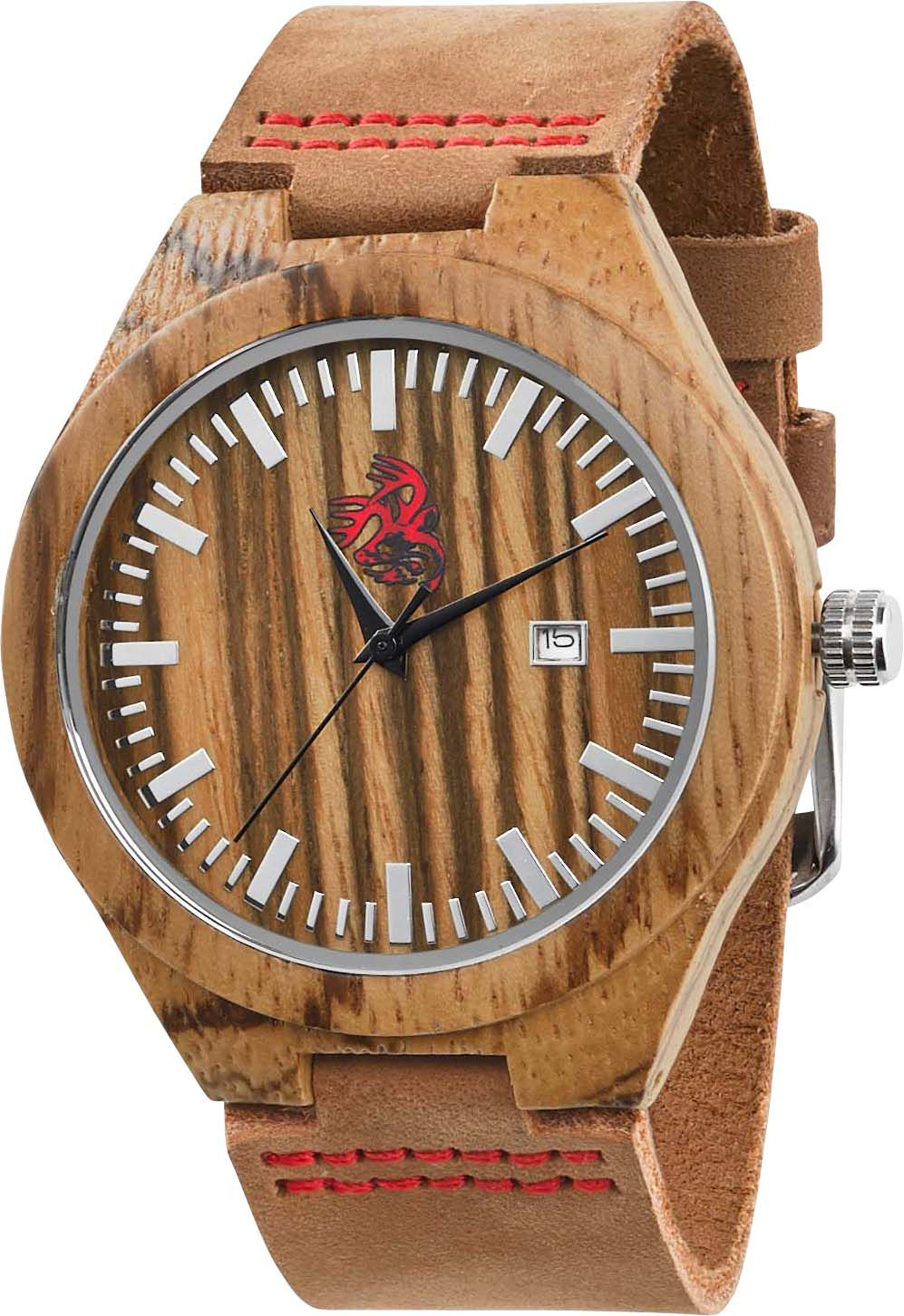 whiskey titanium oak barrel inlay products ring in wood watches