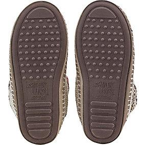 Americana Knit Slipper Boot