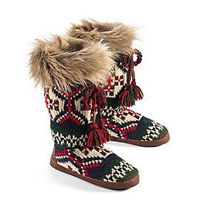 Ladies Lodge Slipper Boots