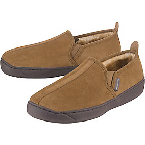 Mens Casual Suede Slip On