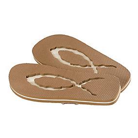 Footprints Flip Flops