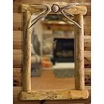 Lodgepole Antler Mirror