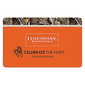 Legendary Whitetails Gift Card